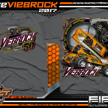Chase Viebrock Outlaw Winged Sprint Car Dirt Track Racing Shirts