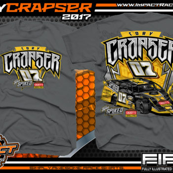 Cory Crapser USMTS Modified Dirt Racing Shirt