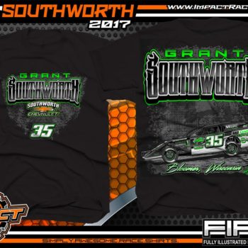 Grant Southworth Modified Dirt Race T-Shirt