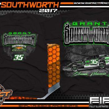 Grant Southworth Modified Dirt Race T-Shirt