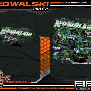 Ian Kowalski Lucas Oil Off Road Series Racing T-Shirt