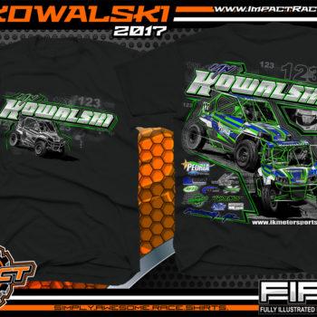 Ian Kowalski Lucas Oil Off Road Series Racing T-Shirt
