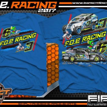 JR Sartain USMTS Dirt Track Modified Shirt
