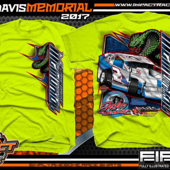 Jake Davis Memorial Big Block Modified Dirt Racing Shirt