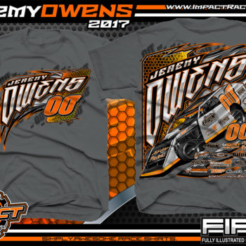 Jeremy Owens DirtTrack Modified Racing T-Shirt