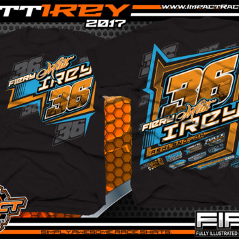 Matt Irey Ohio Dirt Late Model Custom Race Shirts