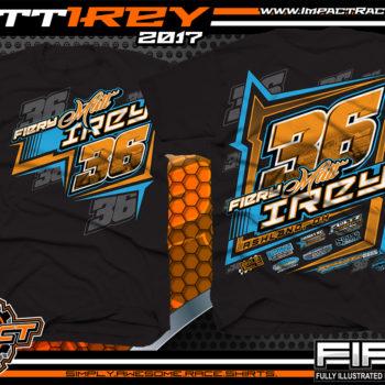 Matt Irey Ohio Dirt Late Model Custom Race Shirts