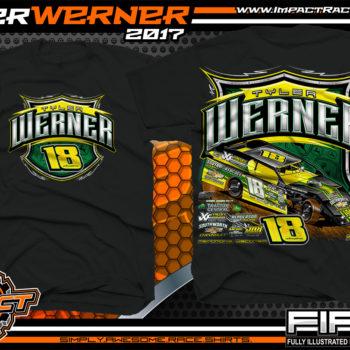 Tyler Werner Wissota Modified Dirt Racing Shirts