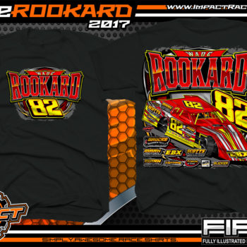 Wade Rookard Dirt Track Modified Kentucky Custom Race Shirts - Copy