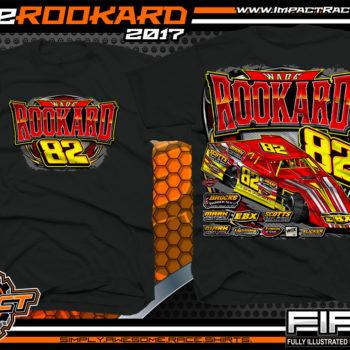 Wade Rookard Dirt Track Modified Kentucky Custom Race Shirts - Copy