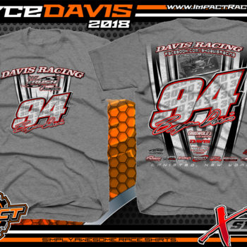 Bryce Davis Rush Late Model Series Champion Dirt Track Racing Shirt
