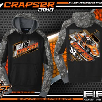 Cory Crapser Wisconsin USMTS Dirt Track Modified Racing Shirts Hoodie