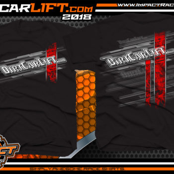 DirtCarLift Dirt Track Racing Car Lift Manufacturer Crew Shirts
