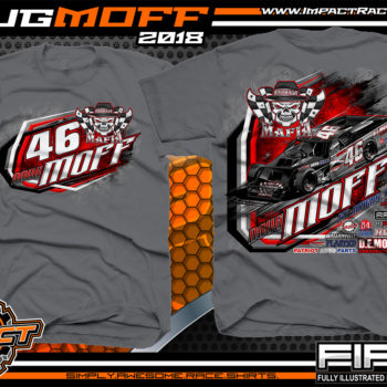Doug Moff Asphalt Mafia Pavement Modified Racer Florida Racing Shirts First Series
