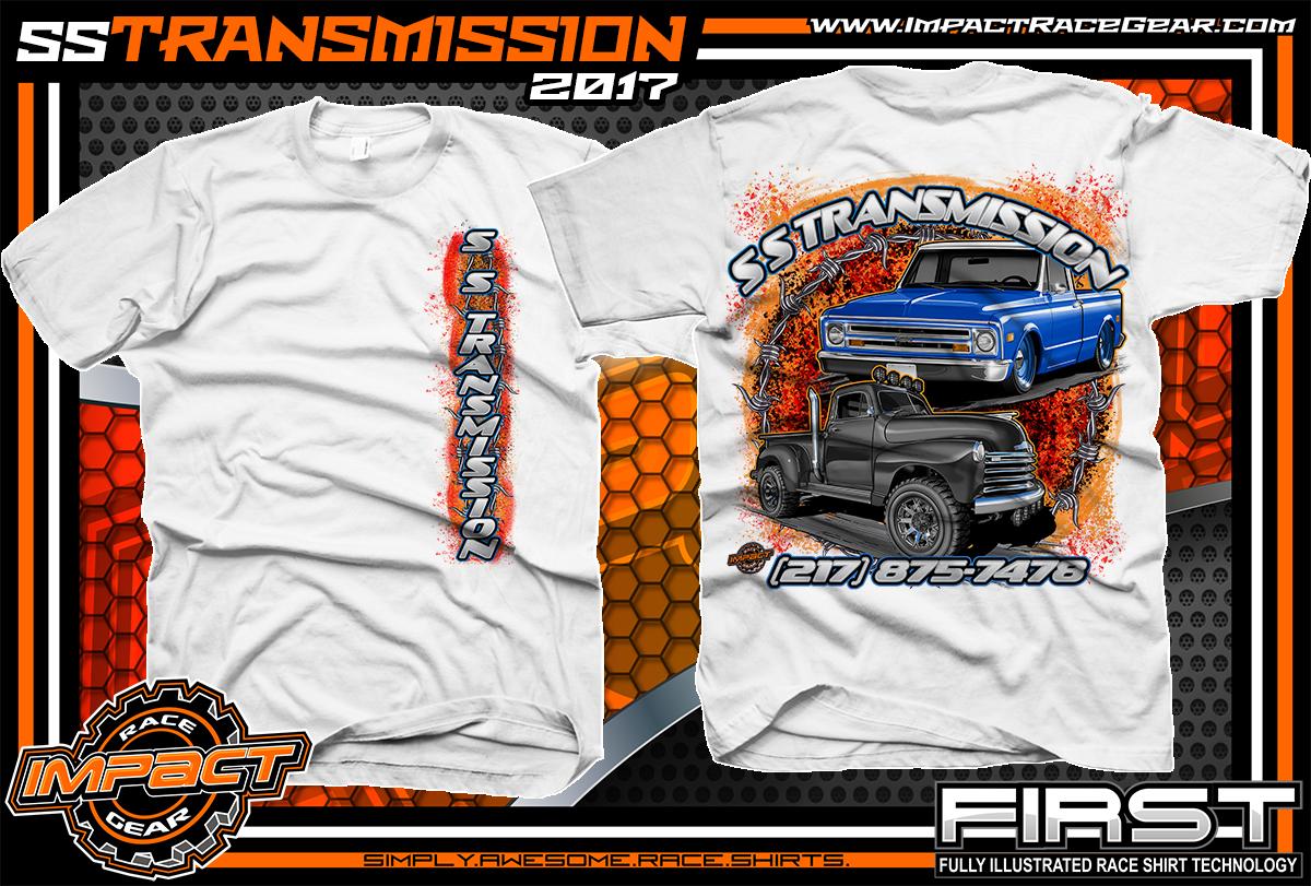 Racing shirt designs impact racegear 877 743 8337 for Custom car club shirts