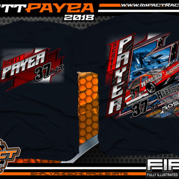 Scott Payea American Canadian Pavement Racing Shirt