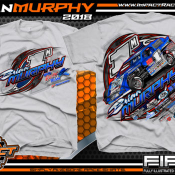 Brian Murphy USMTS Open Wheel Modified Racing Shirts