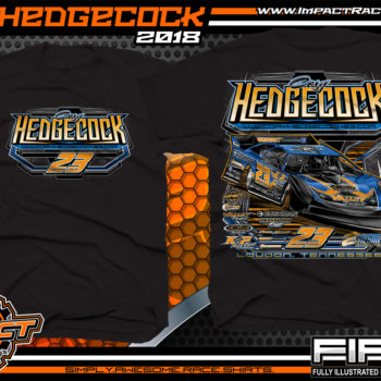Cory Hedgecock Tennessee Dirt Late Model World of Outlaws Racing Shirts Black