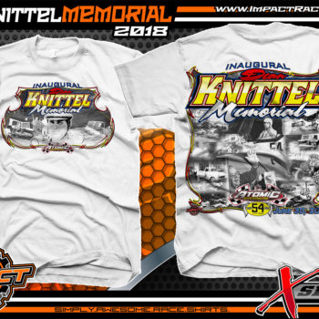 Dirt Track Racing Event Shirt Atomic Speedway Ohio Sprint Car Racing Shirts Dean Knittel Memorial Shirts