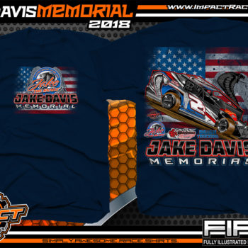 Jake Davis Memorial Woodhull Speedway New York SuperDirt Modified Racing Shirts