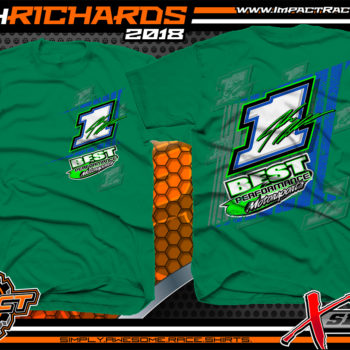 Josh Richards Lucas Oil Late Model Champion Crew Shirt