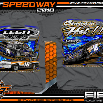 Legit Speedway Missouri Coming In Hot Dirt Track And Event Dirt Late Model T Shirt Charcoal