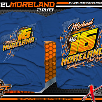 Michael Moreland Dirt Track Racing Shirt
