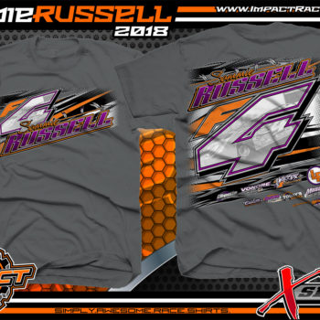 Sammie Russell Tennessee Dirt Track Racing T-Shirts