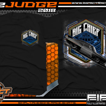 Big Chief The Judge Midwest Street Cars Drag Racing Shirts 405