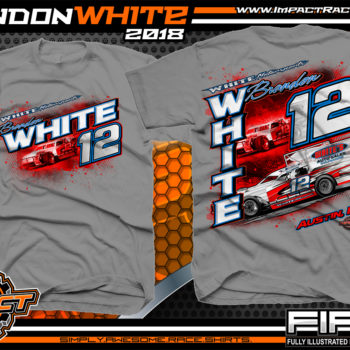 Brandon White Pavement Modified Indiana Race Shirts Gravel