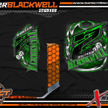 Hunter Blackwell Tennessee Shirts For Race Teams Black