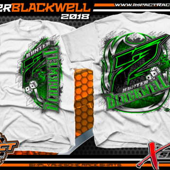 Hunter Blackwell Tennessee Shirts For Race Teams White