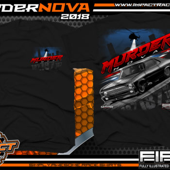 Murder Nova Midwest Street Cars Street Outlaws Drag Racing Shirts