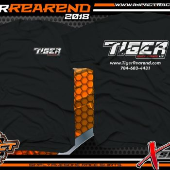 Tiger Rearend Performance Racing Industry Manufacturer Company Racing Shirts