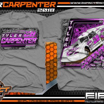 Tyler Carpenter Kryptonite Race Cars West Virginia Dirt Late Model Shirts Gravel