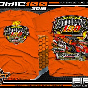 Atomic-100-Race-Shirts-Atomic-Speedway-Event-T-Shirts-Tim-McCreadie-Winner-Orange