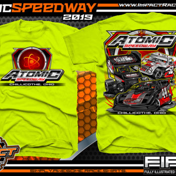 Atomic-Speedway-Dirt-Track-Racing-Track-Souvenir-Shirt-Safety-Yellow
