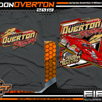 Brandon-Overton-Rum-Runner-Racing-T-Shirts-Joey-Coulter-Hillbilly-100-Winner-World-of-Outlaws-Dirt-Late-Model-Series-Lucas-Oil-Dirt-Late-Model-Series-Shirts-Dark-Heather