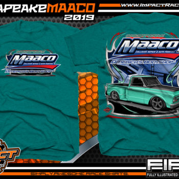 Chesapeake-Maaco-Show-Car-Shirts-Antique-Jade-Dome