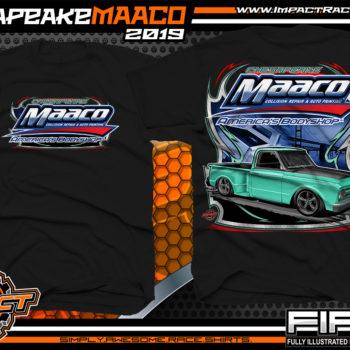Chesapeake-Maaco-Show-Car-Shirts-Black