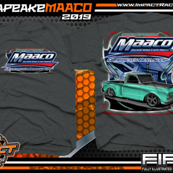Chesapeake-Maaco-Show-Car-Shirts-Dark-Heather