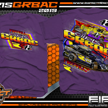 Chris-Grbac-Dirt-Racing-T-Shirt-Modified-Super-Dirtcar-Big-Block-Modified-New-Jersey