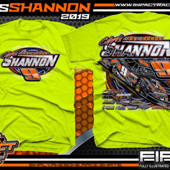 Chris-Shannon-The-Cannon-Lucas-Oil-Dirt-Late-Model-Cincinnati-Ohio-Safety-Yellow