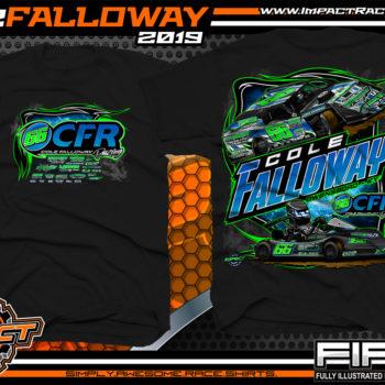 Cole-Falloway-Racing-Tees-Modified-T-Shirts-USMTS-Kart-Racing-Shirts-Owensboro-Kentucky-Black