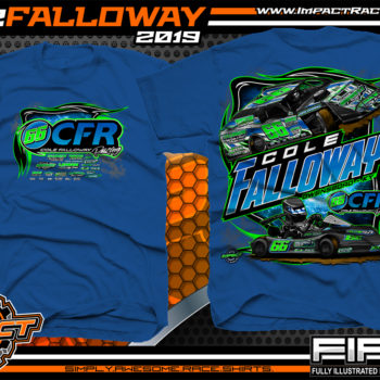 Cole-Falloway-Racing-Tees-Modified-T-Shirts-USMTS-Kart-Racing-Shirts-Owensboro-Kentucky-Royal