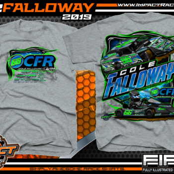 Cole-Falloway-Racing-Tees-Modified-T-Shirts-USMTS-Kart-Racing-Shirts-Owensboro-Kentucky-Sport-Grey