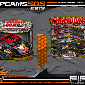 Comp-cams-Super-Dirt-Series-Champions-Lucas-Oil-Jack-Sullivan-Kyle-Beard-Billy-Moyer-Bill-Frye-Dirt-Late-Model-Racing-TShirts-Charcoal