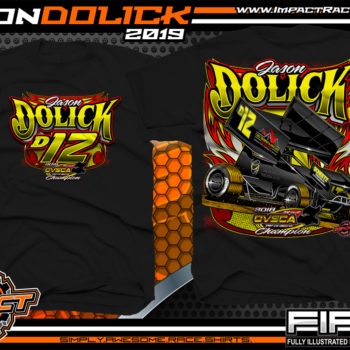 Jason-Dolick-OVSCA-World-of-Outlaws-Sprint-Car-Racing-T-Shirts-Ohio-Dirt-Racing-Shirts-Black
