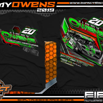 Jimmy-Owens-Lucas-Oil-Late-Model-Dirt-Track-Racing-T-Shirts