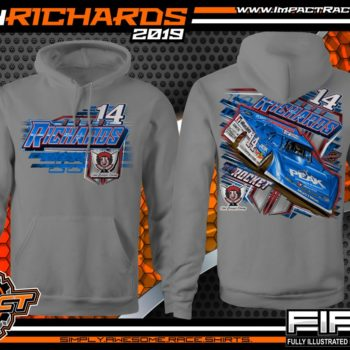 Josh-Richards-Lucas-Oil-Dirt-Late-Model-Clint-Bowyer-Racing-Gravel-Hooded-Sweatshirt